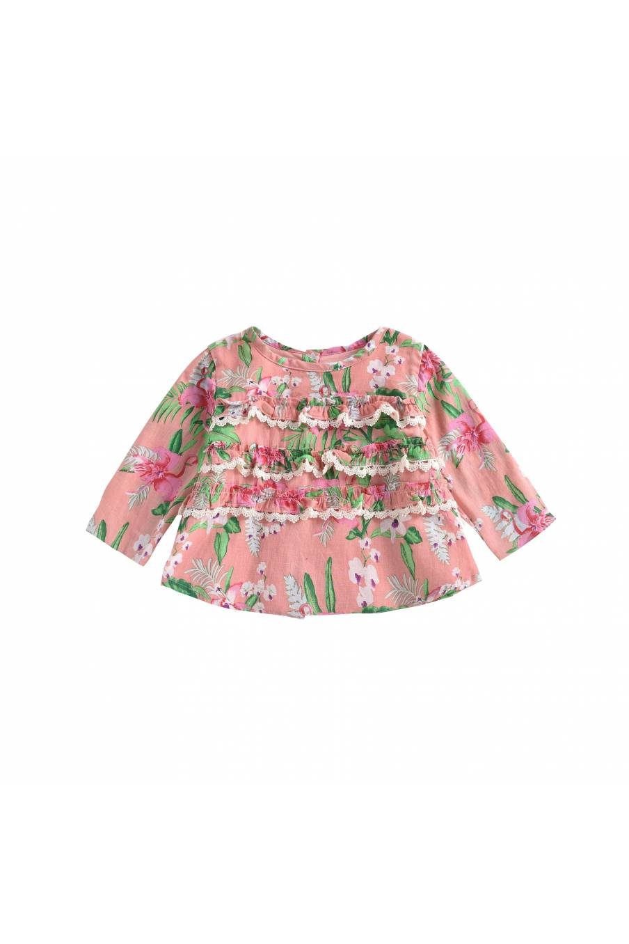 Blouse Campeche Sienna Flamingo