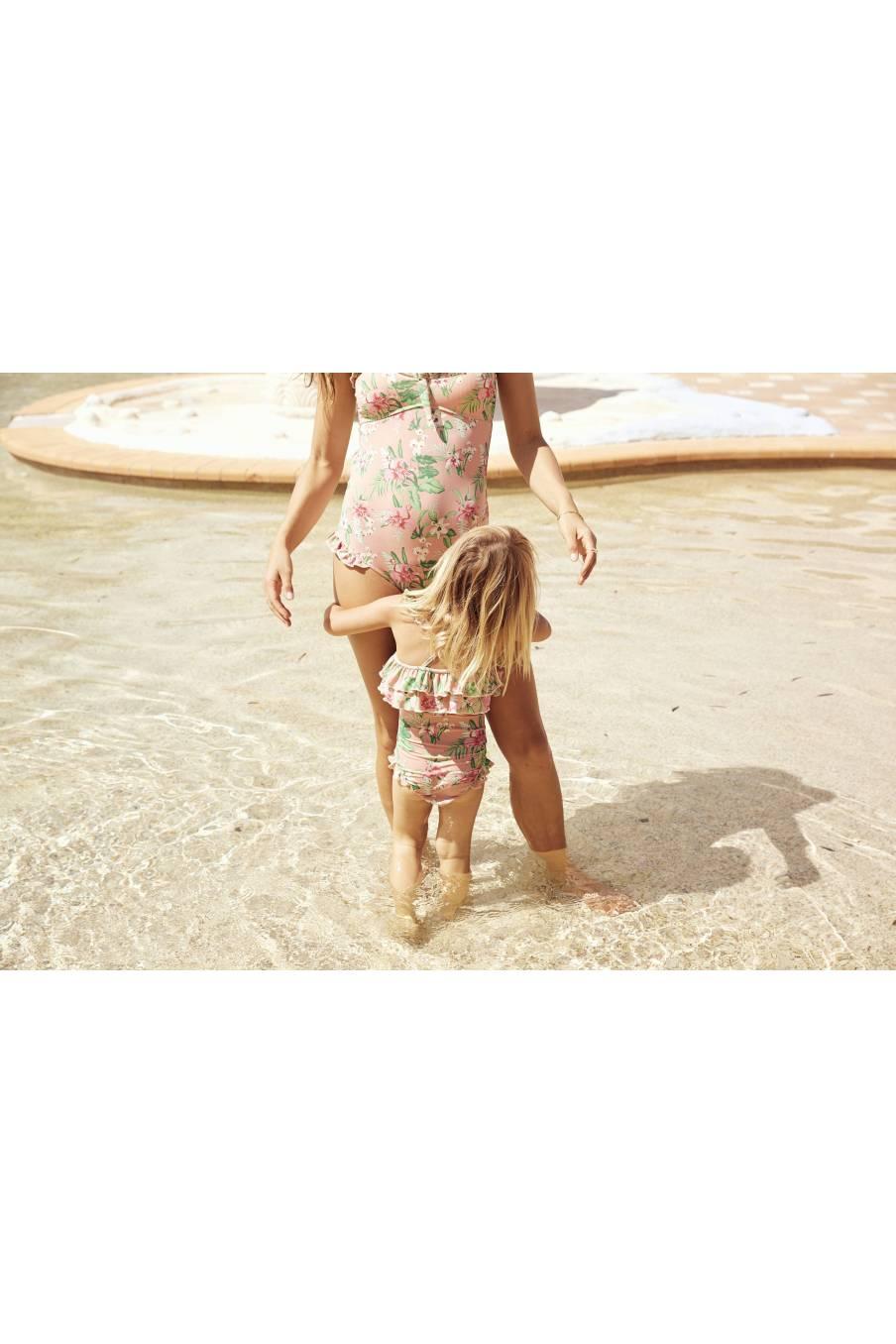 Bathing Suit Zacatecas Sienna Flamingo