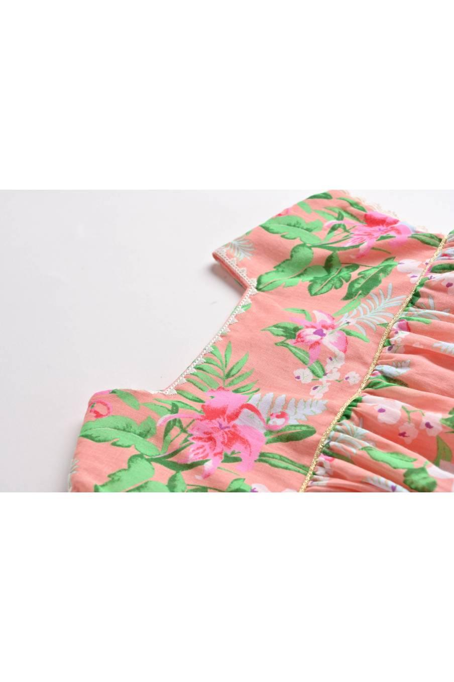 Dress Tapalpa Sienna Flamingo
