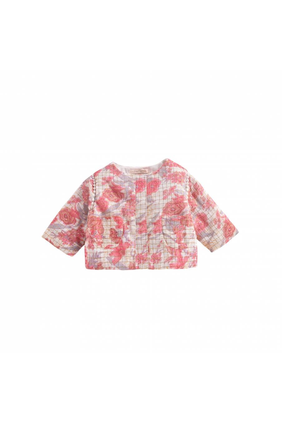 Jacket Soluta Pink Flowers