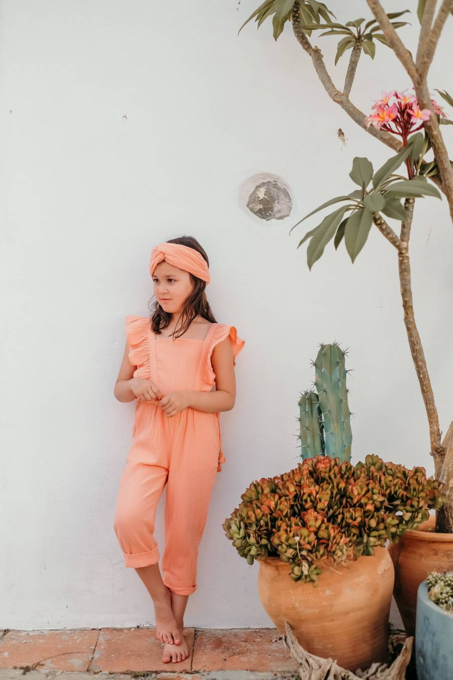Overalls Amishi Coral