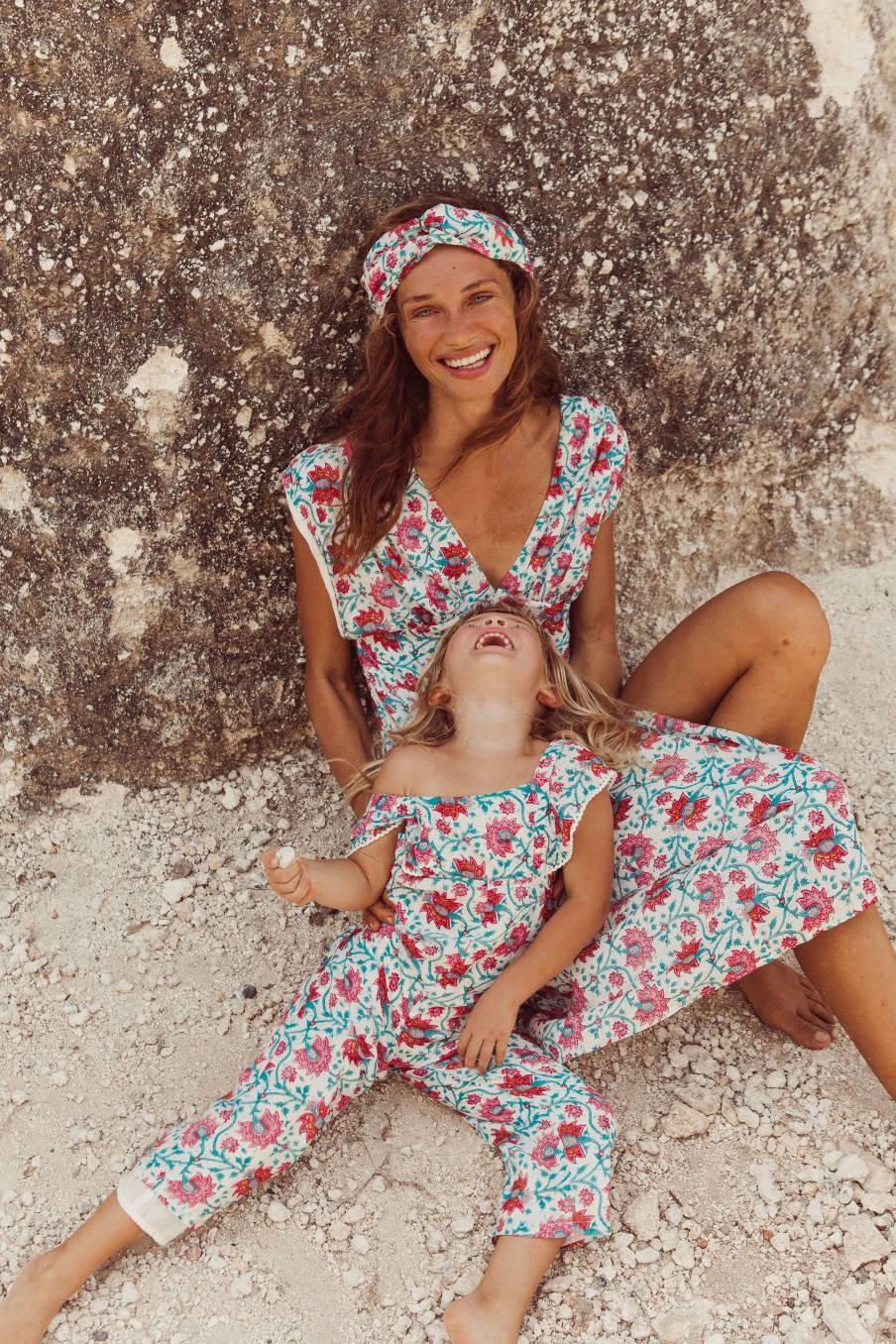 Overalls Natalia Jaipur Flowers