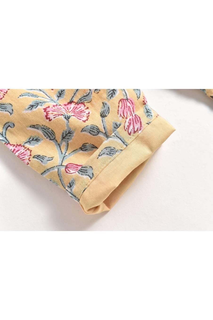 Pants Tzolani Lemon Flowers