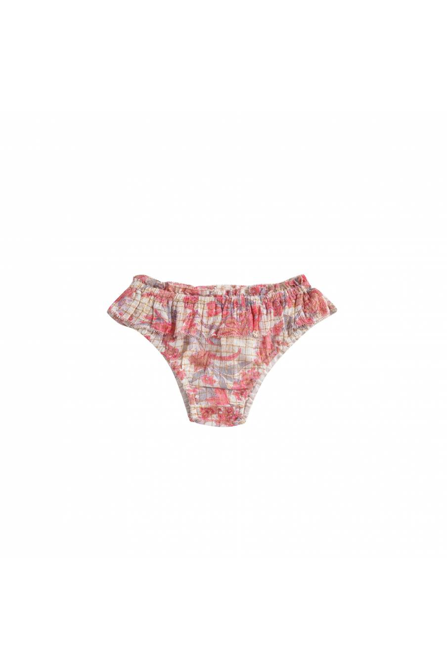 Panties Mimi Pink Flowers