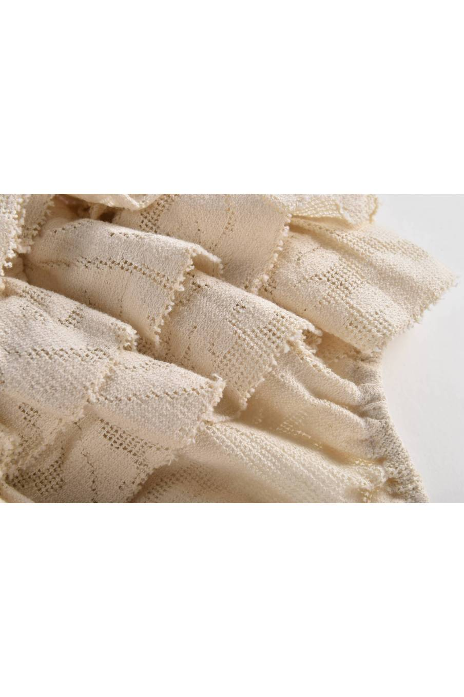 Rompers Izamal Cream Baroque Lace