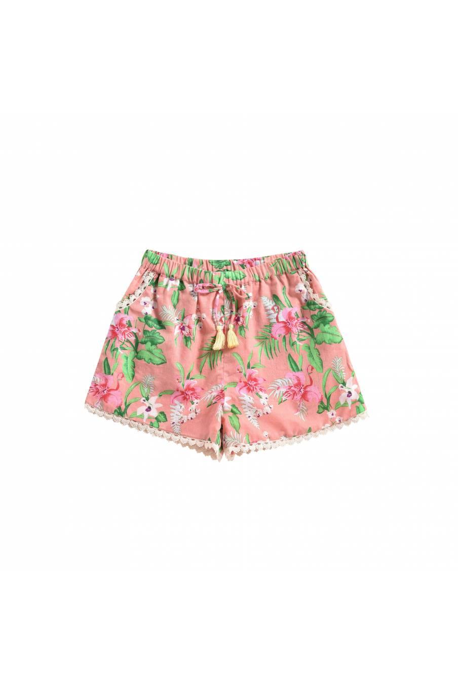 Shorts Vallaloid Sienna Flamingo