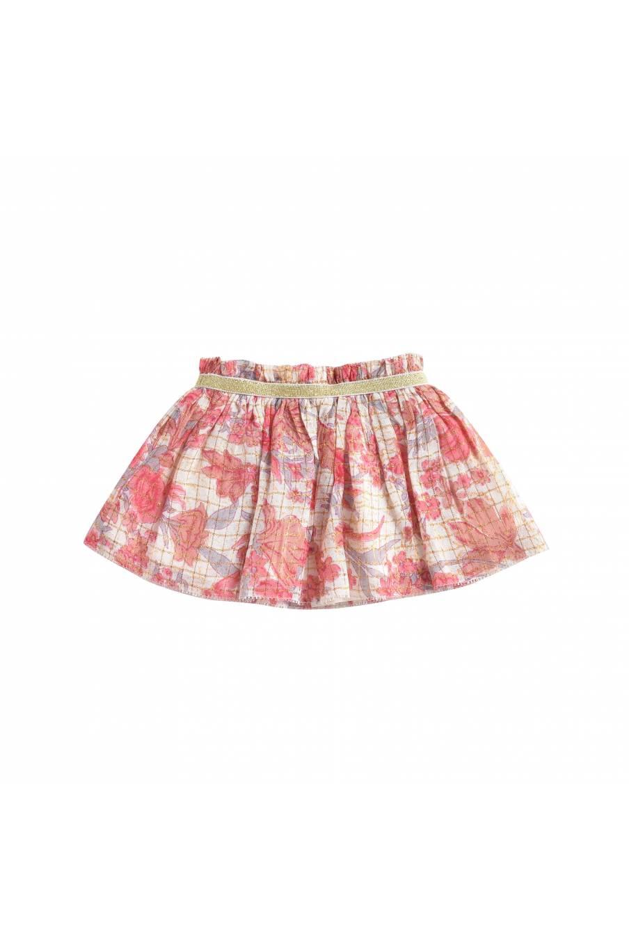 Skirt Salina Pink Flowers