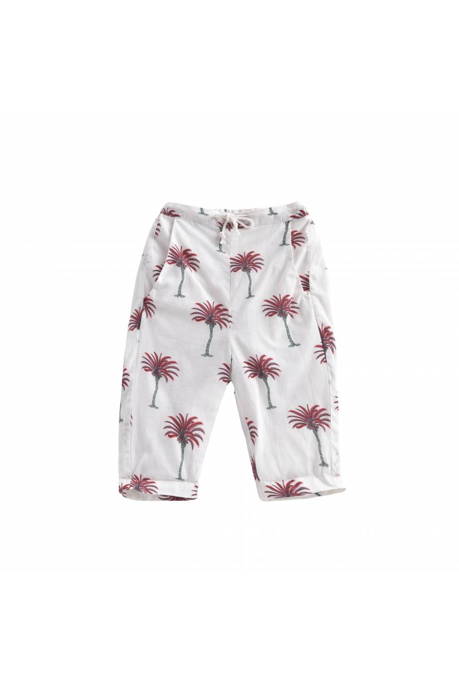 Pants Avani White Tropical