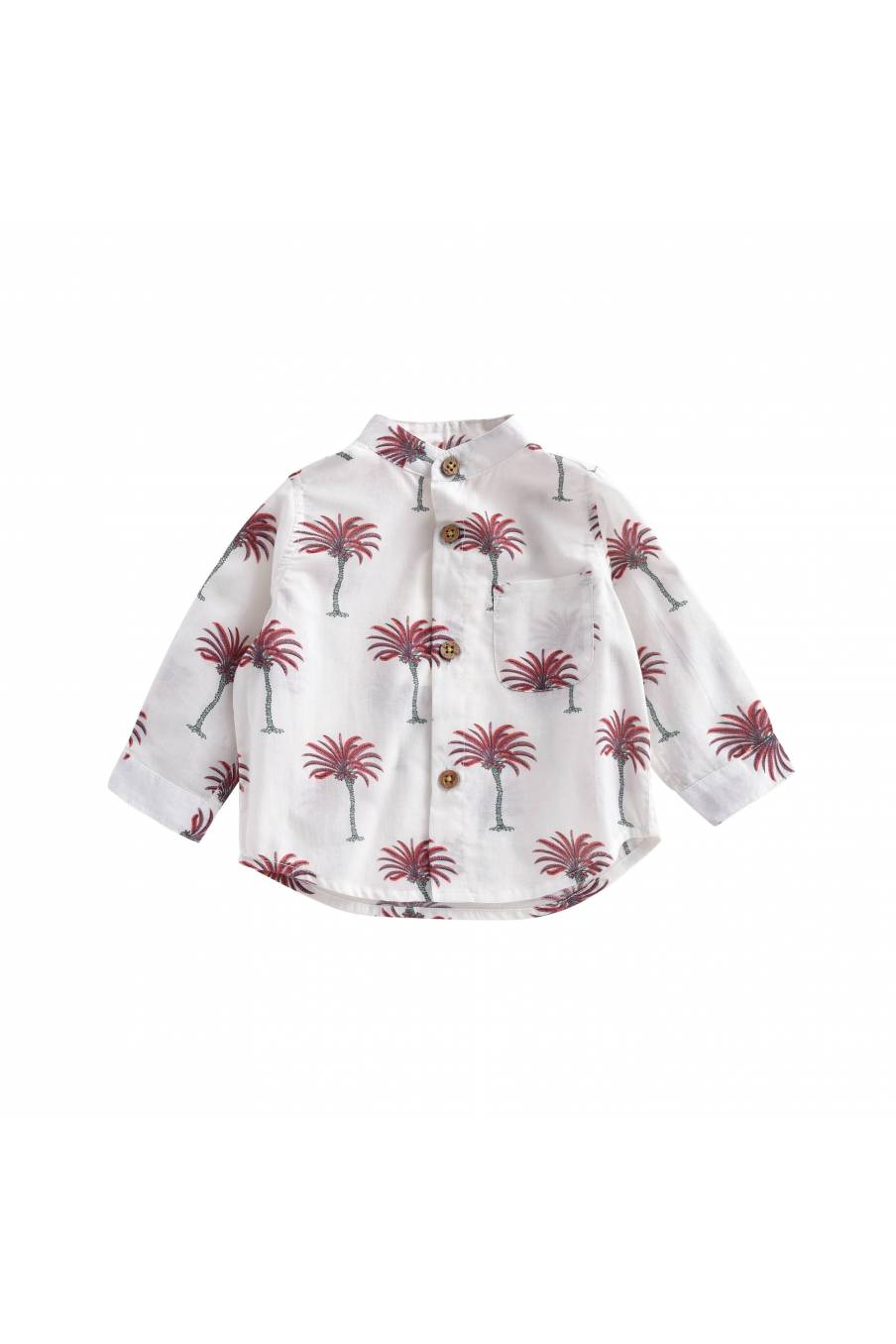 Shirt Amod White Tropical
