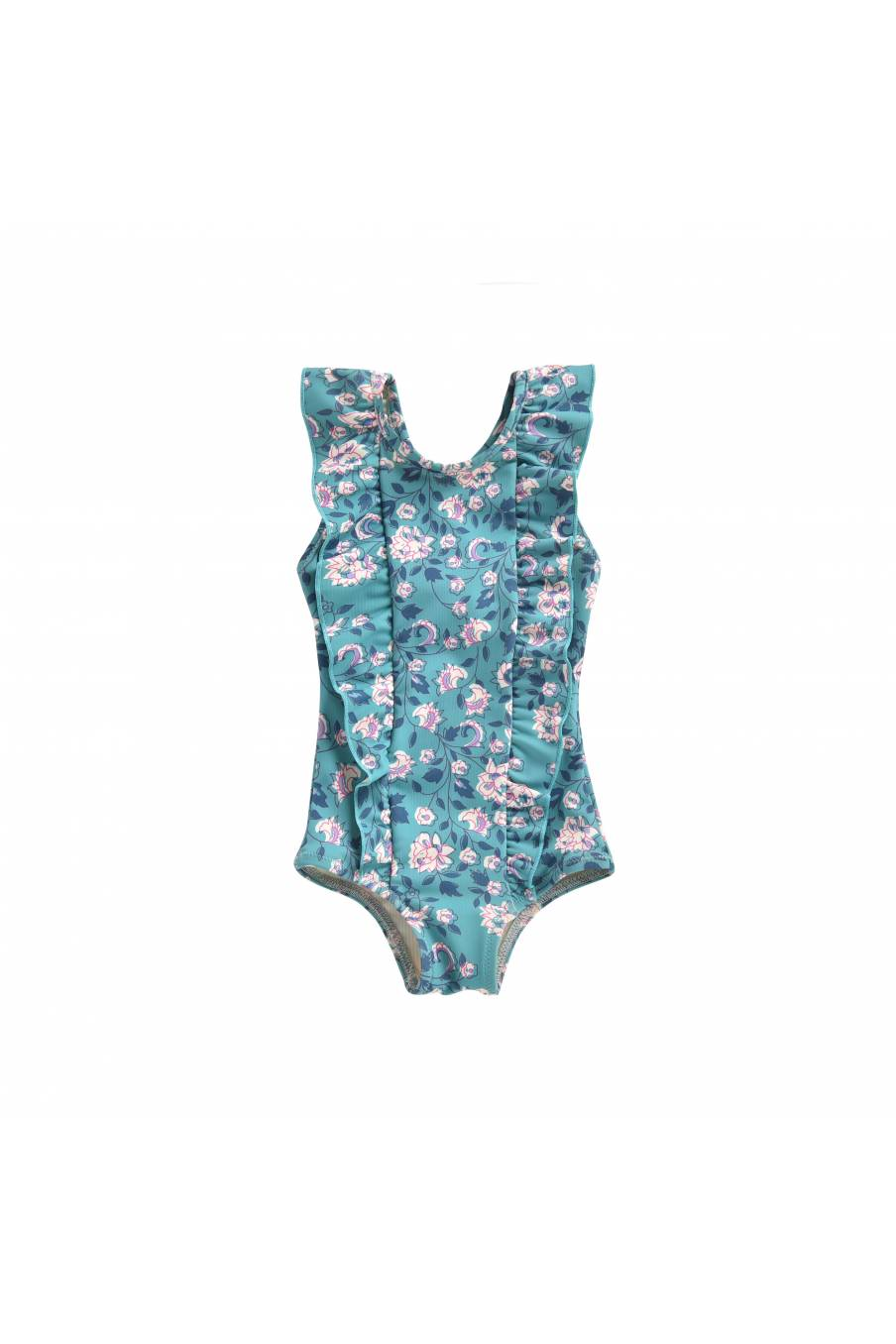 Bathing Suit Mosillos Emerald Flowers