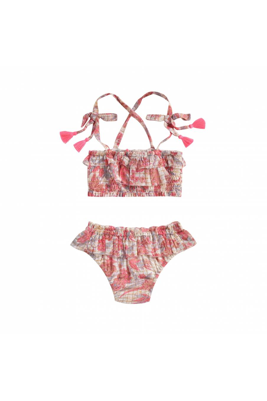 Bikini Mapimi Pink Flowers