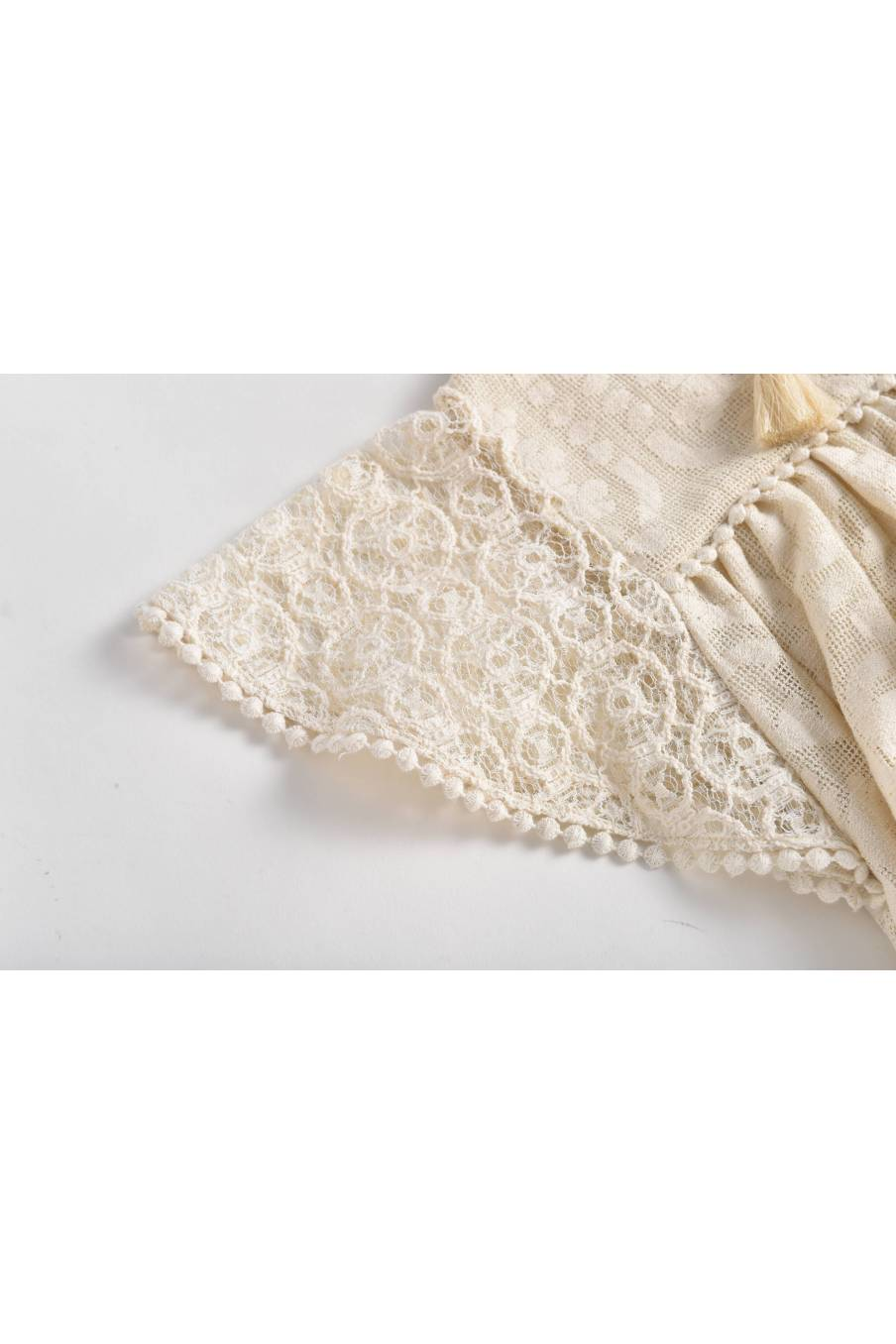 Dress Teresa Cream Baroque Lace
