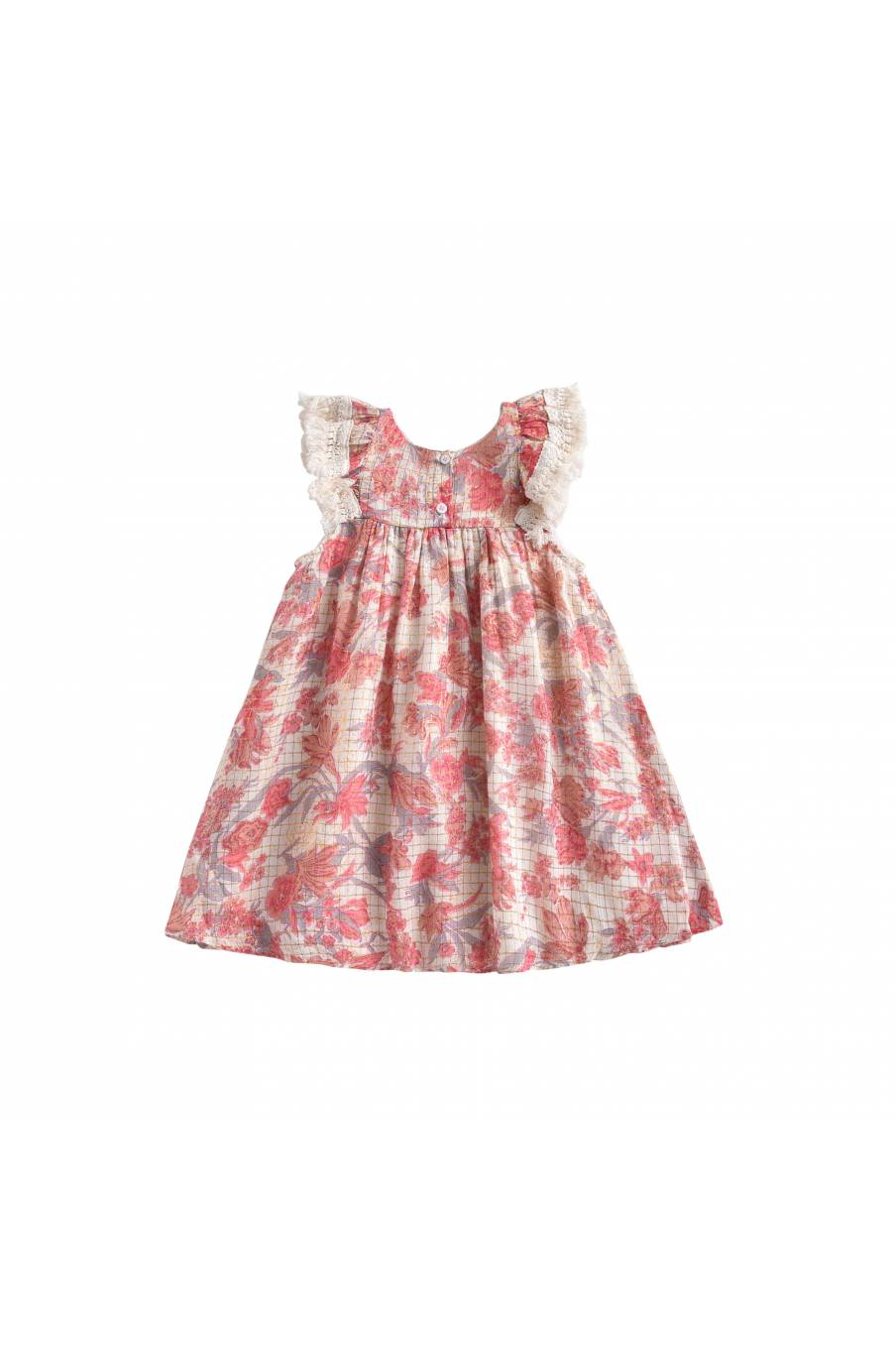 Dress Janice Pink Flowers