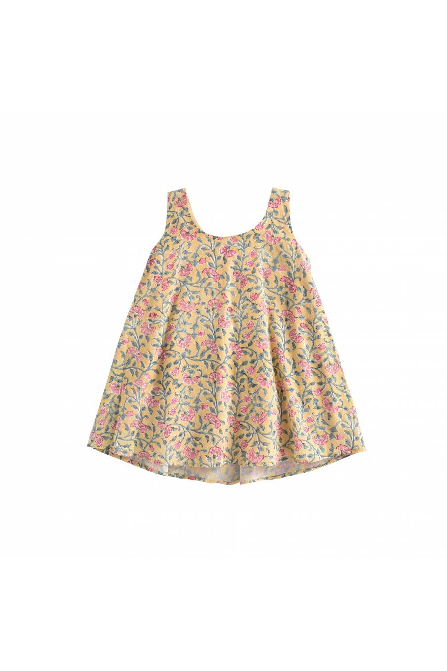 Dress Calkini Lemon Flowers