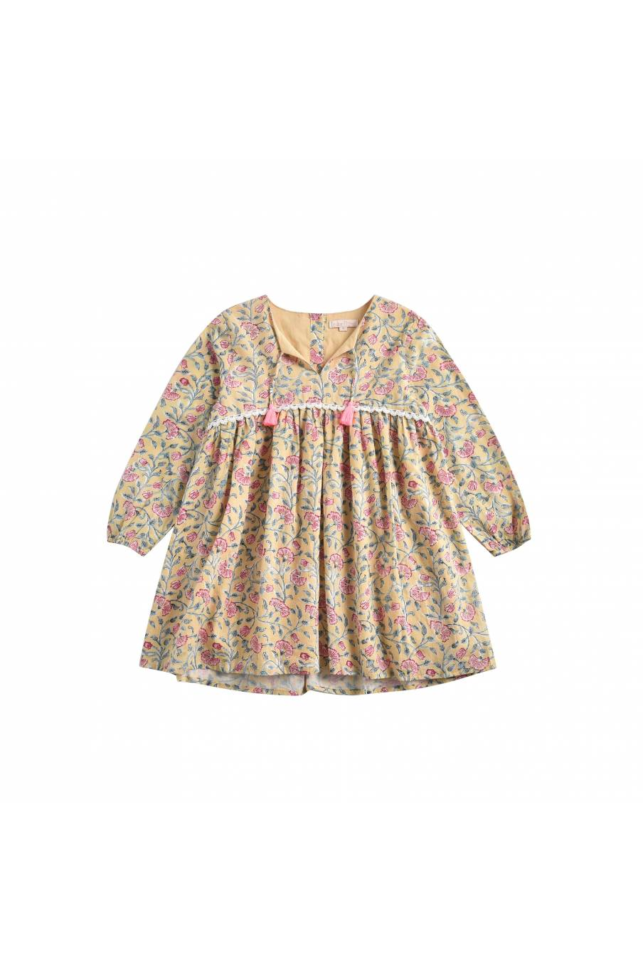 Dress Felizita Lemon Flowers
