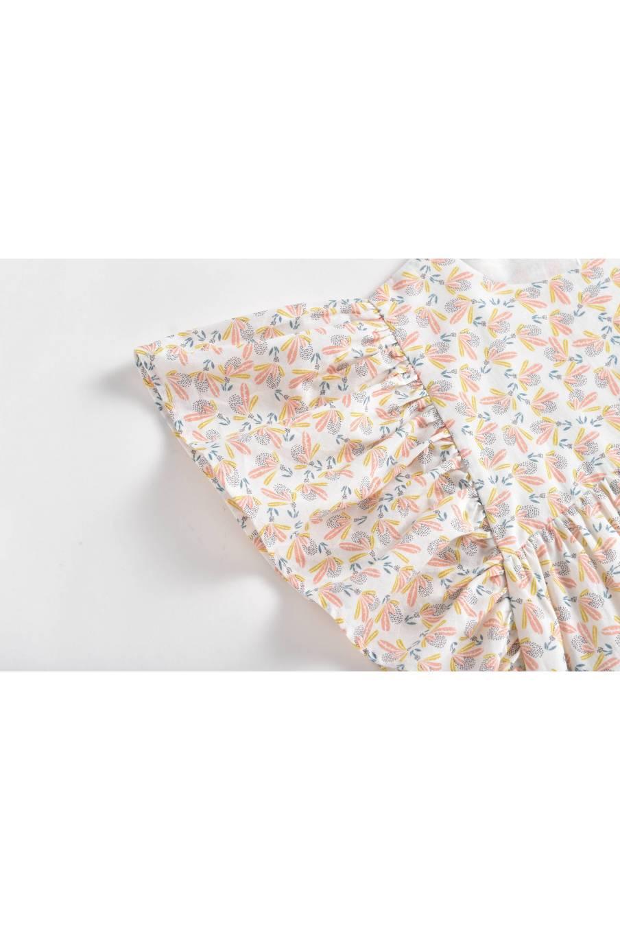 Dress Almas Cream Petals