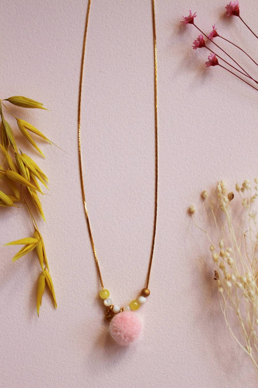 Necklace Serenade Blush