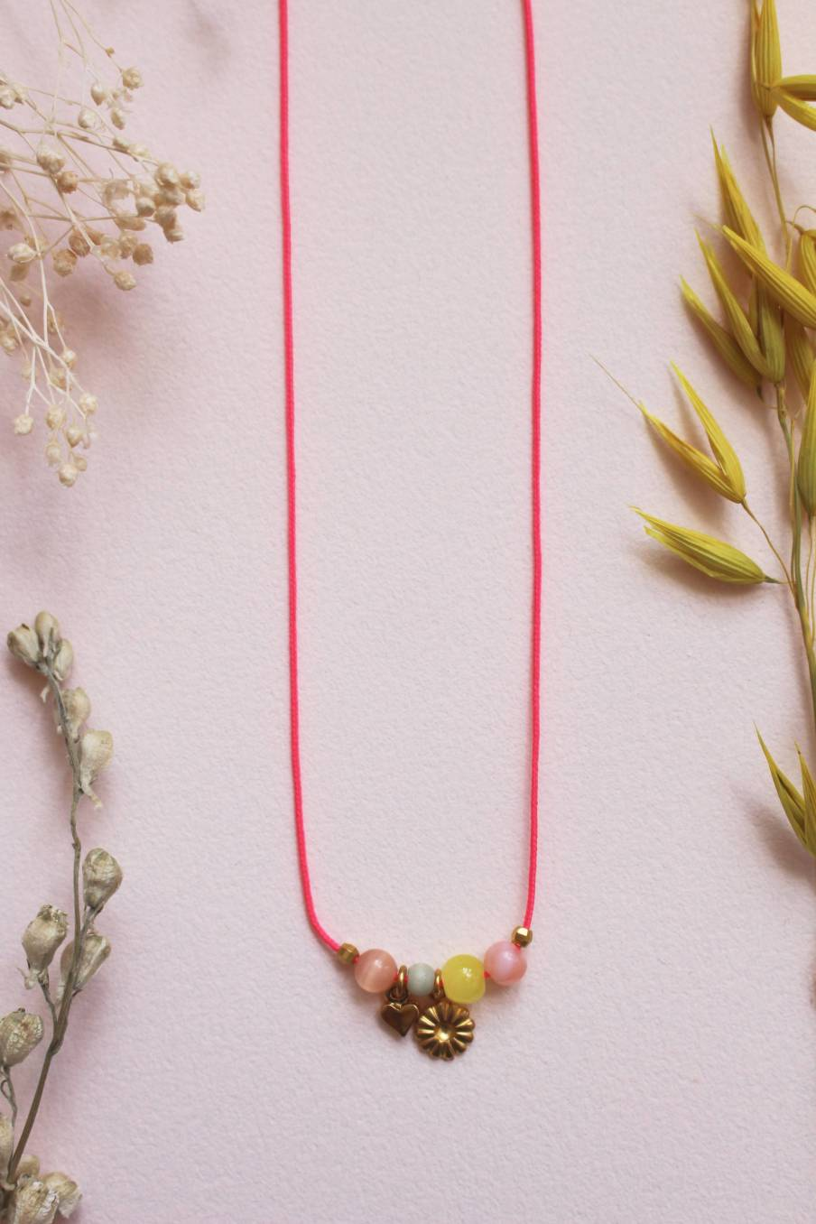 Necklace Solene Blush