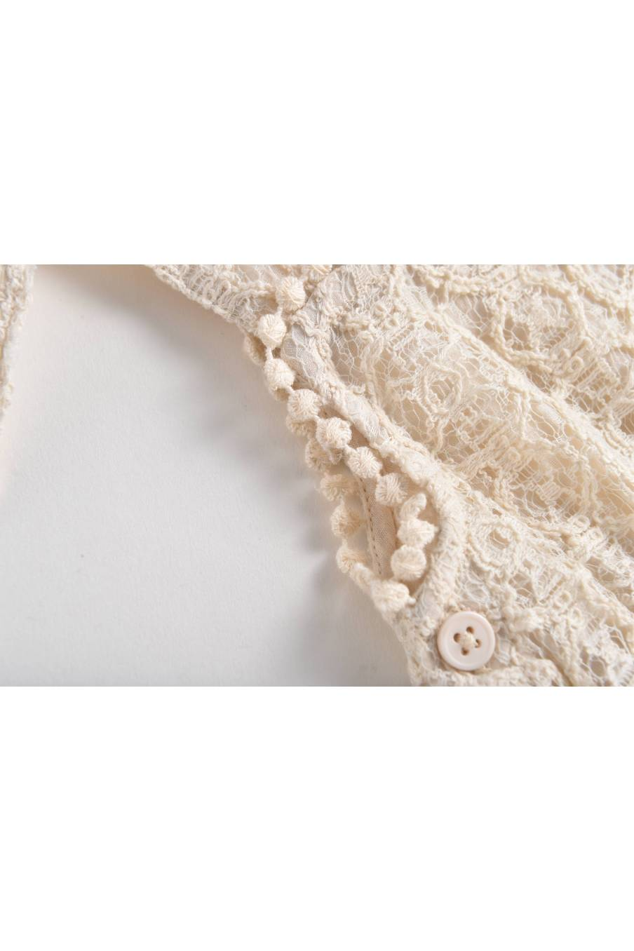 Overalls Karla Cream Sparkle Lace