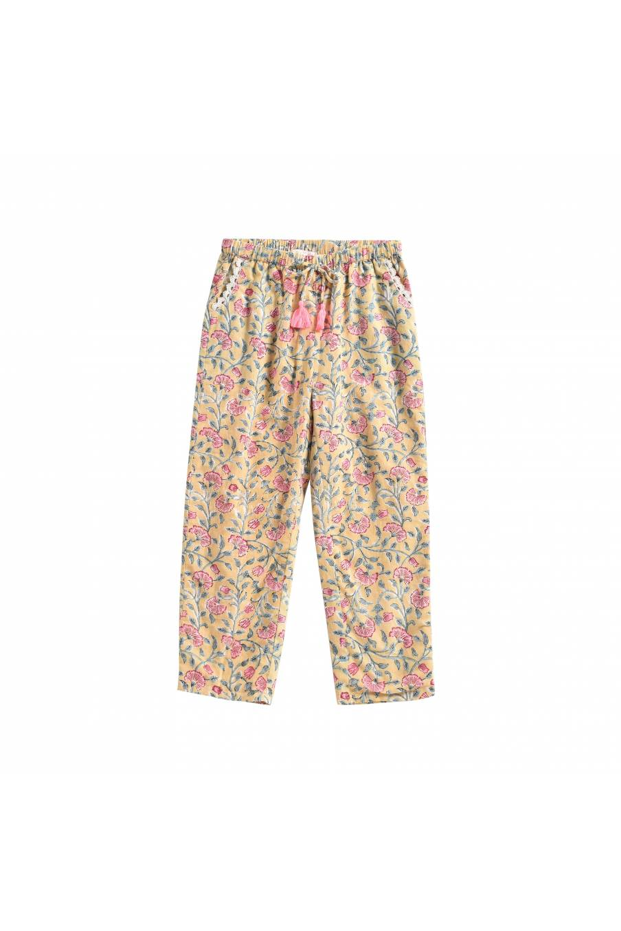 Pants Tzolani Lemon Flowers