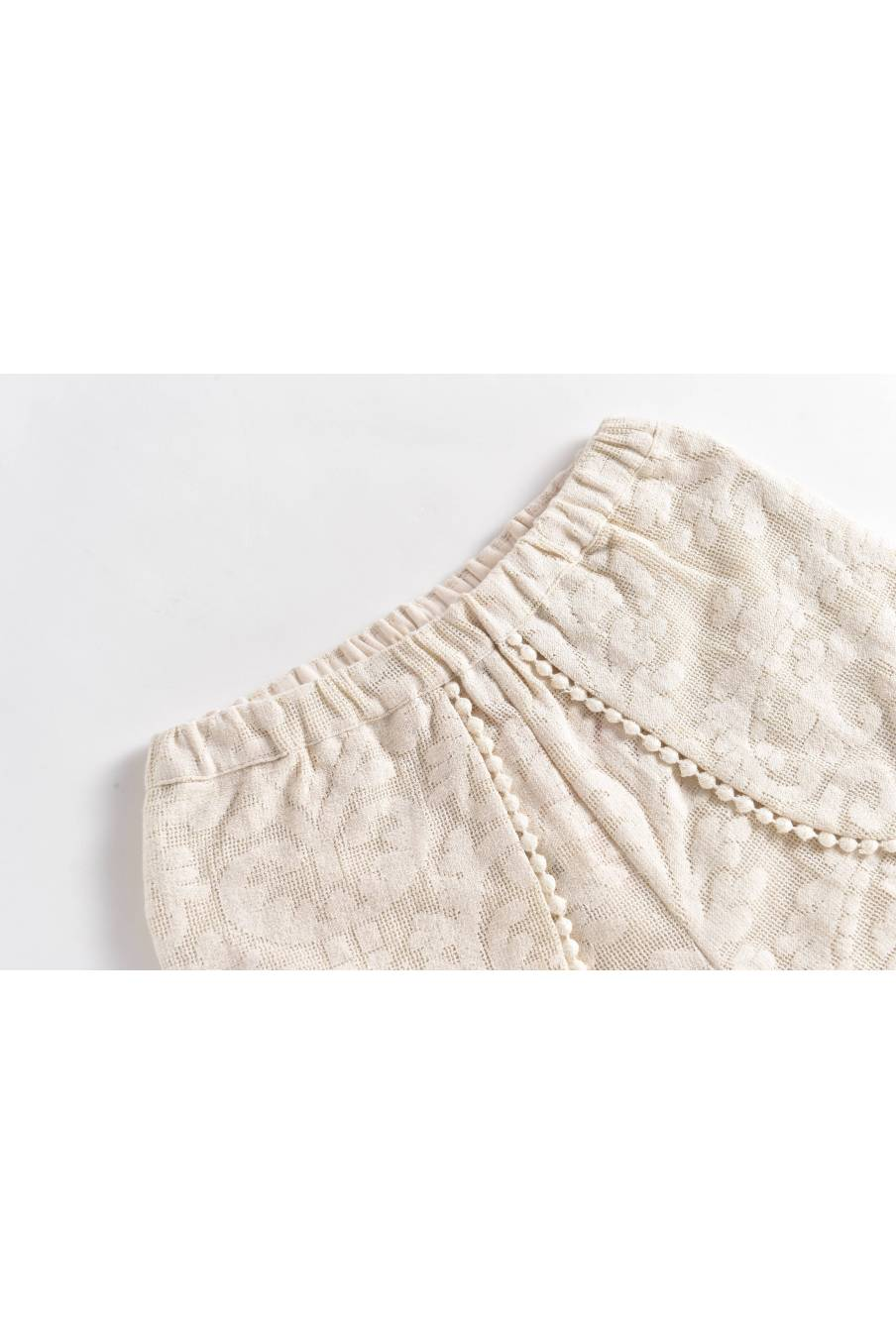 Shorts Velinda Cream Baroque Lace