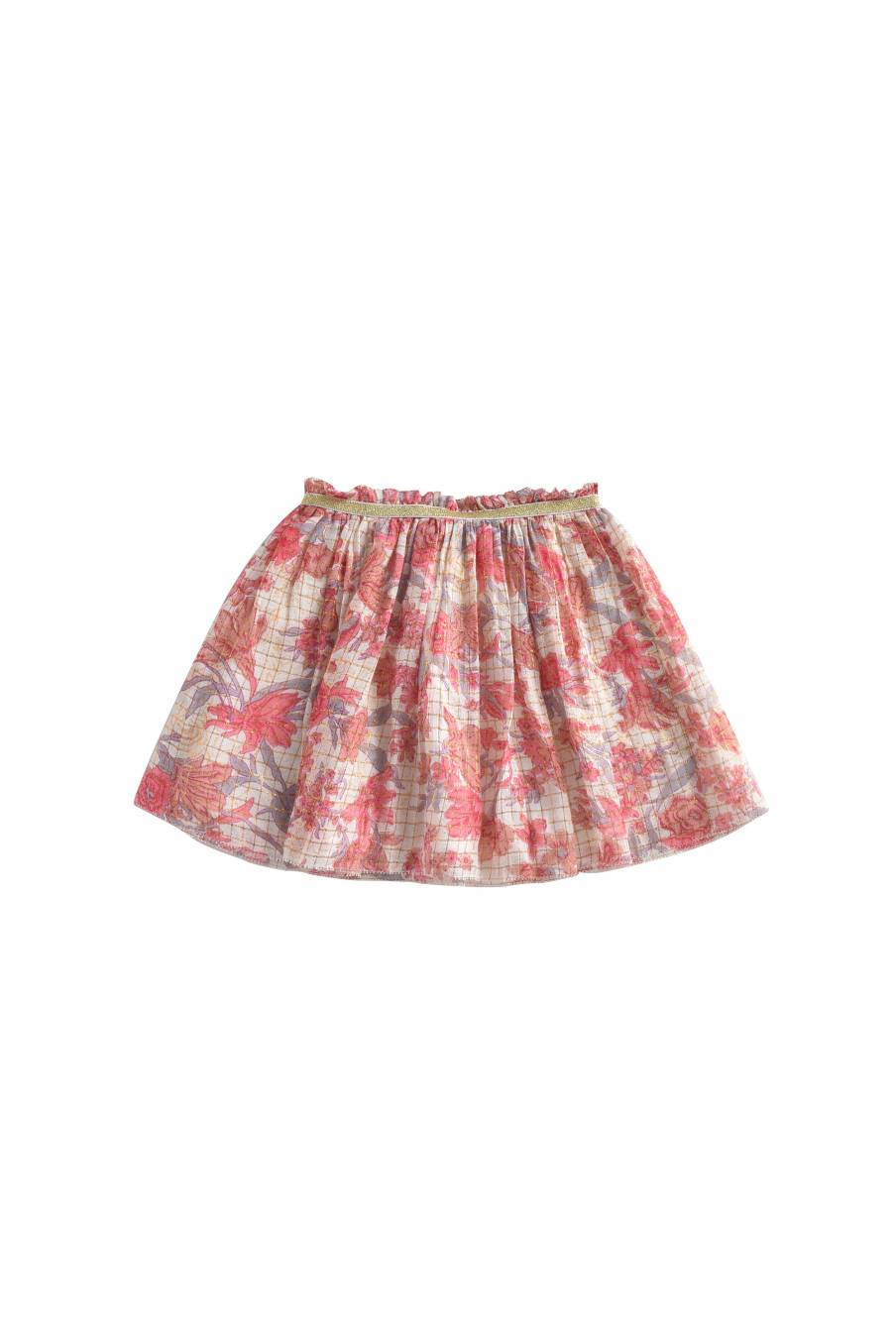 Skirt Salina Pink Flowers