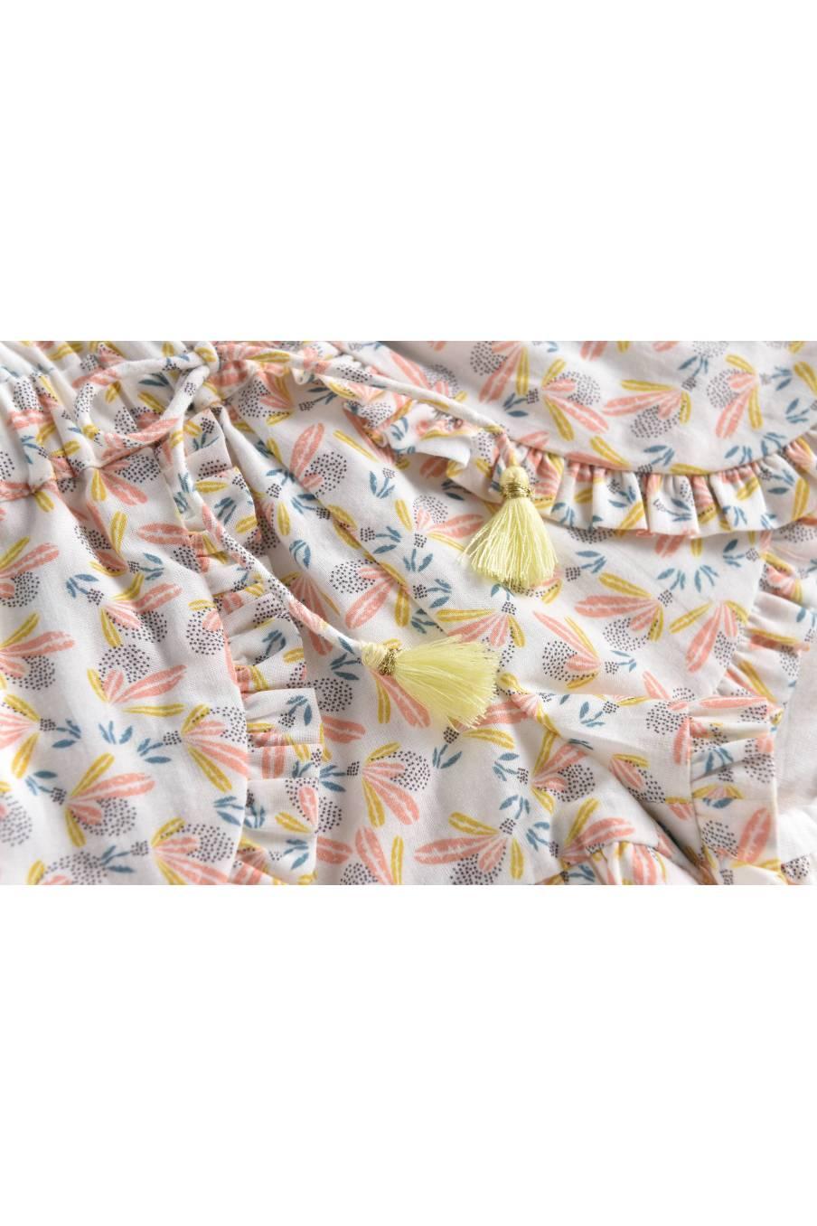 Shorts Asha Cream Petals