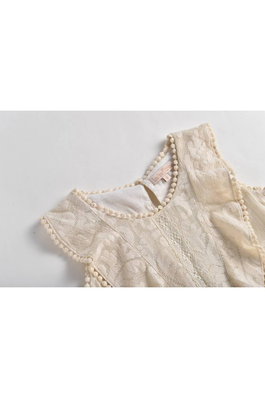 Top Jelly Cream Baroque Lace