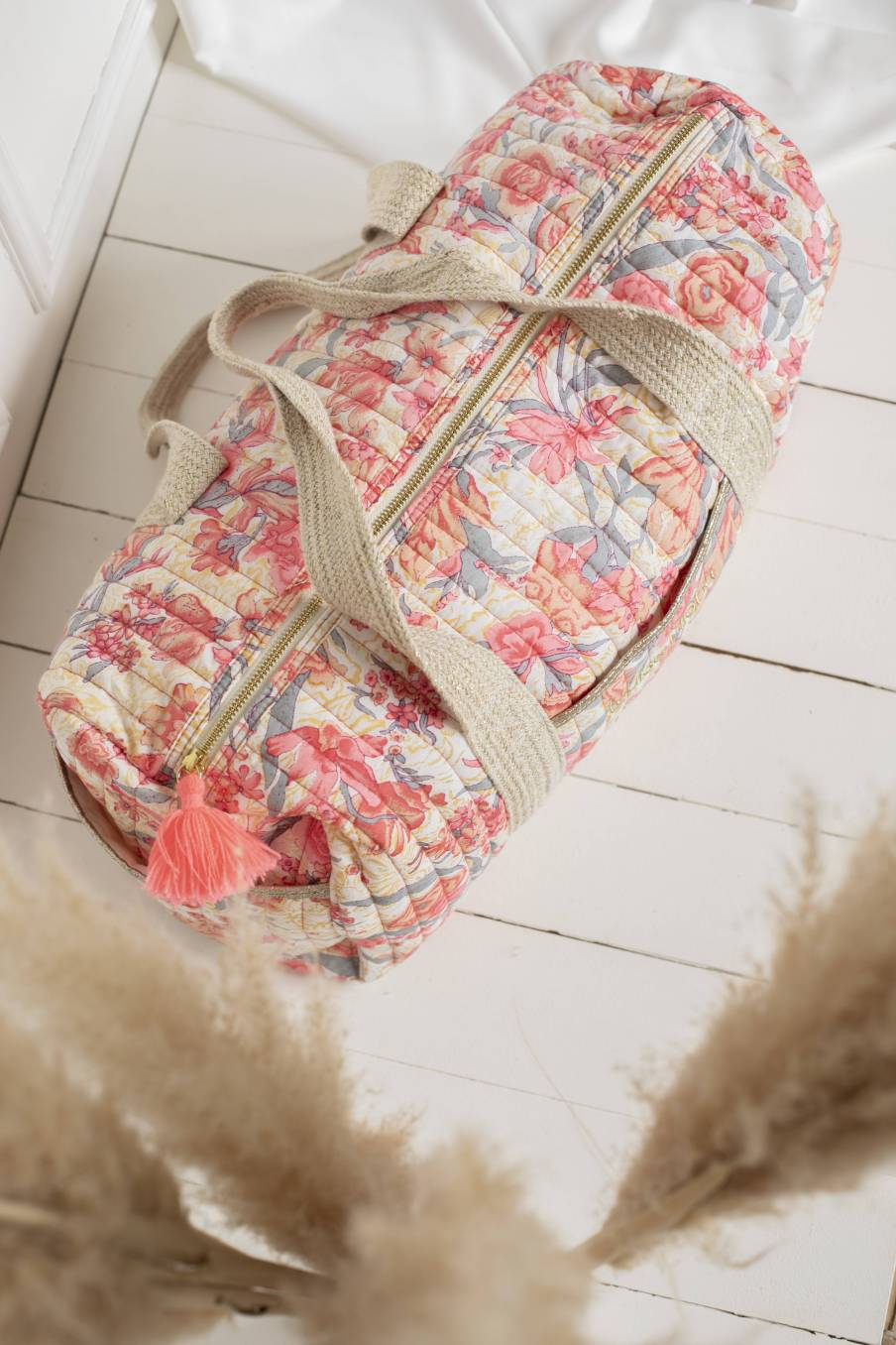 Bag Vaeva Pink Flowers