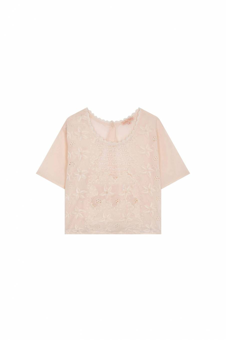 Blouse Veracruz Light Blush