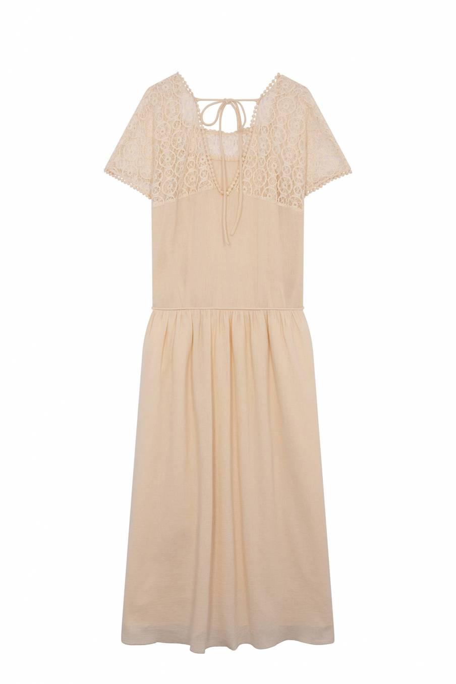 Dress Adela Cream