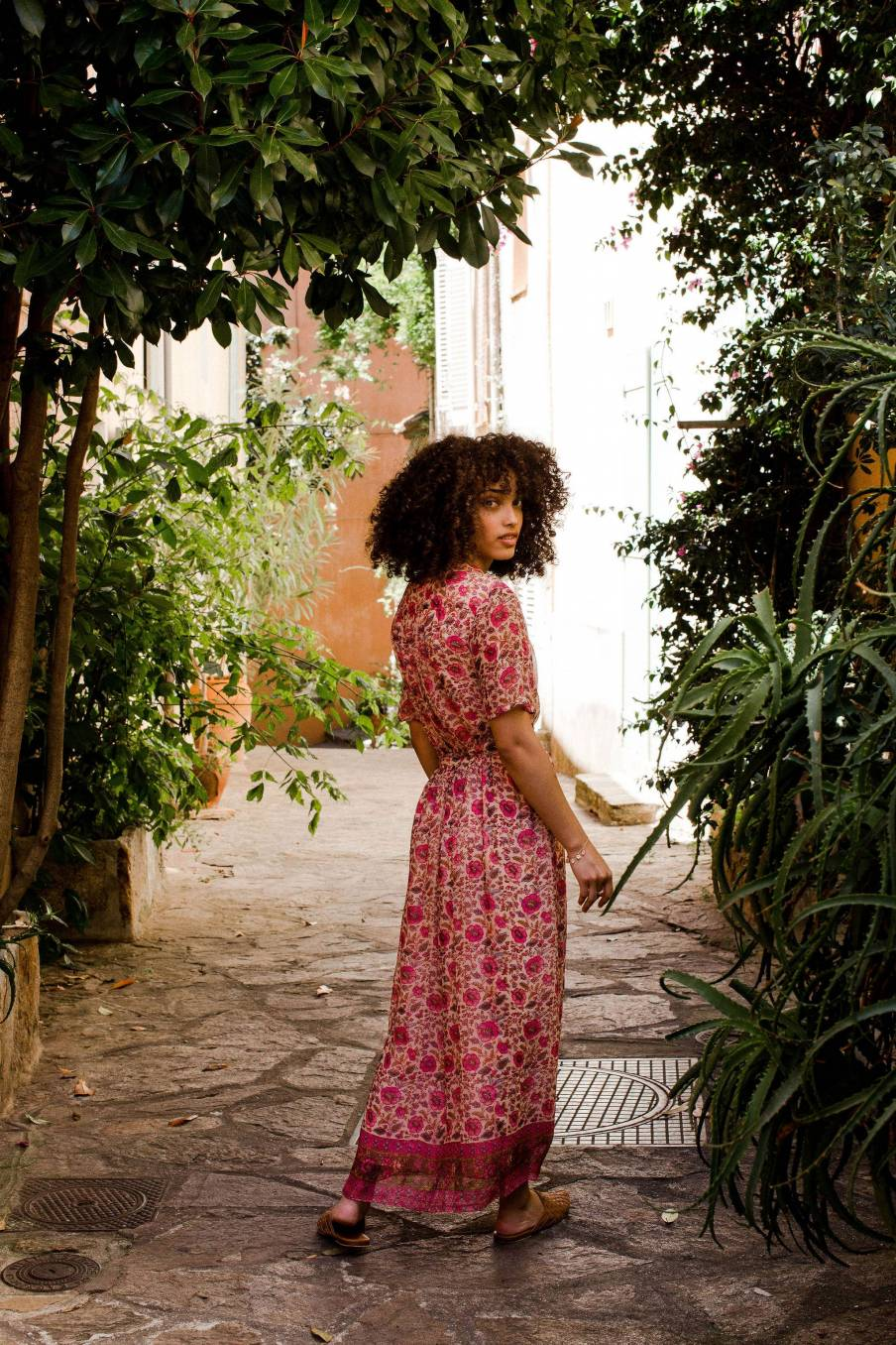 Dress Steria Vintage Flowers