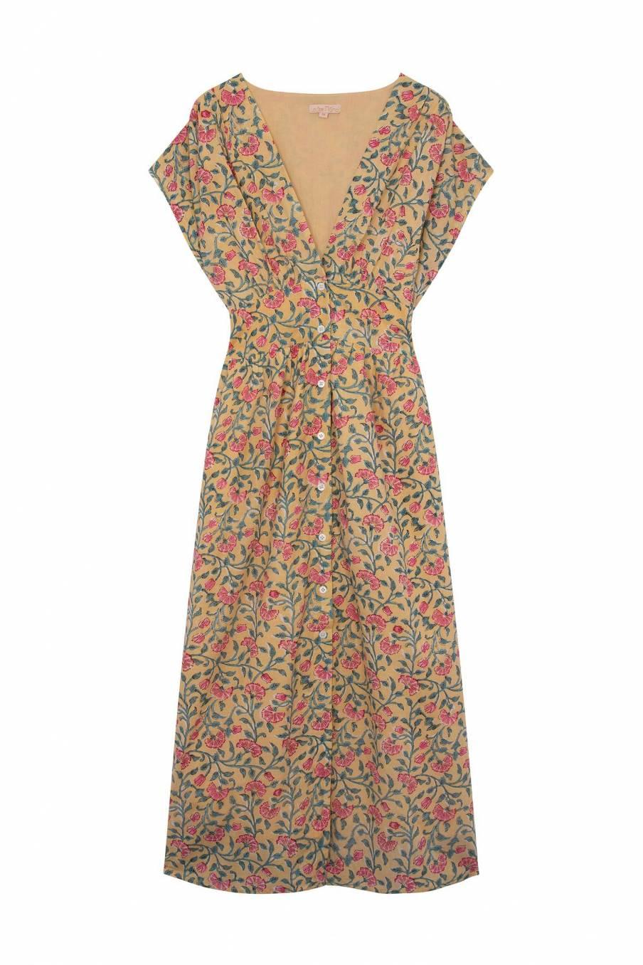 Dress Tylia Lemon Flowers