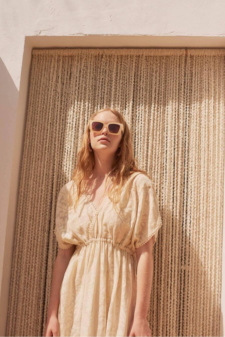 Dress Guadalara Cream Baroque Lace