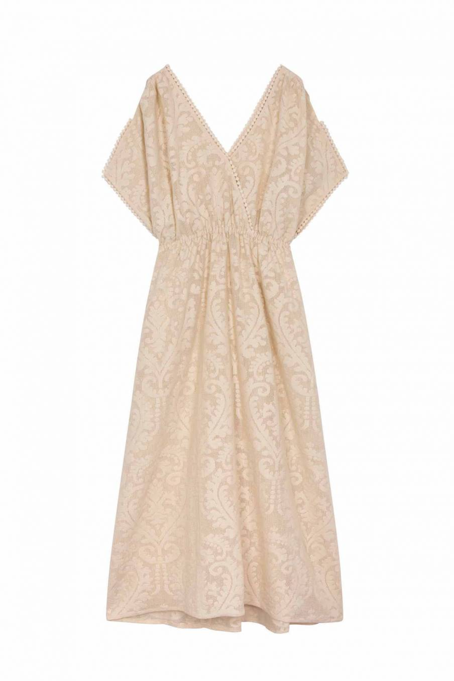 Dress Guadalara Cream Baroque Lace