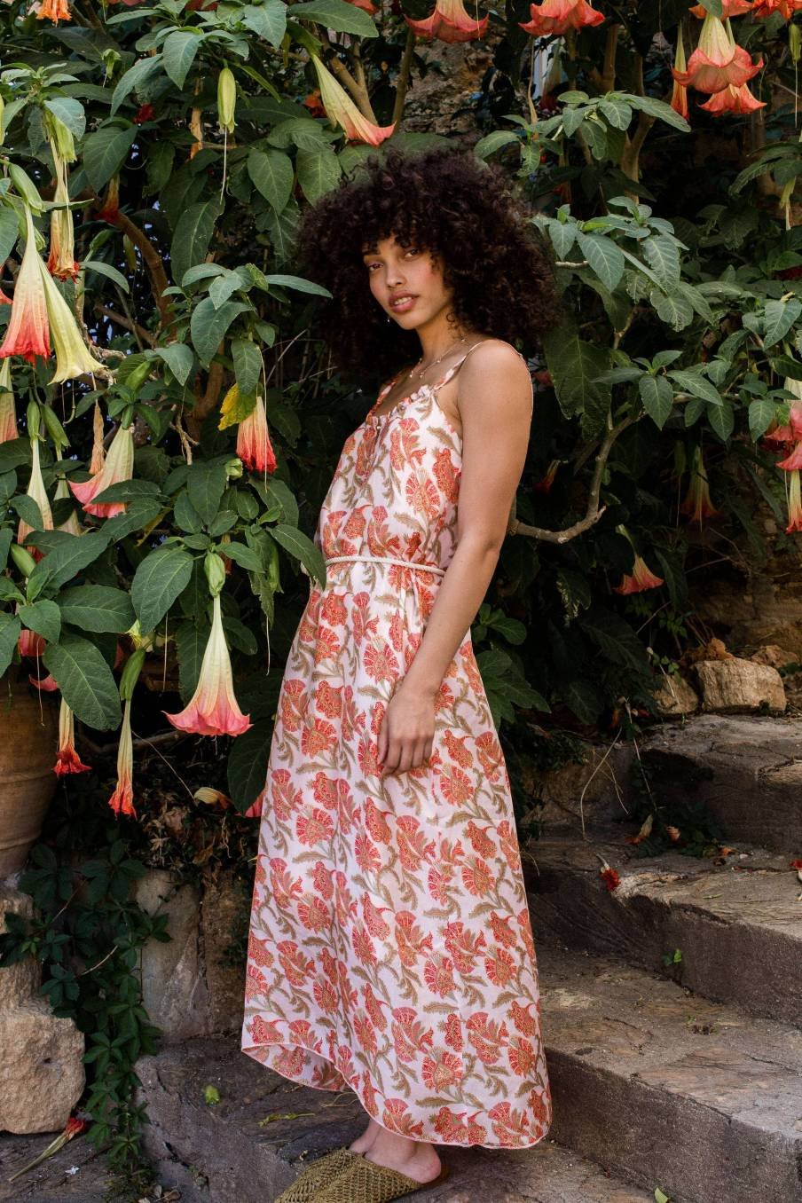 Dress Chamane Bohemian Flowers