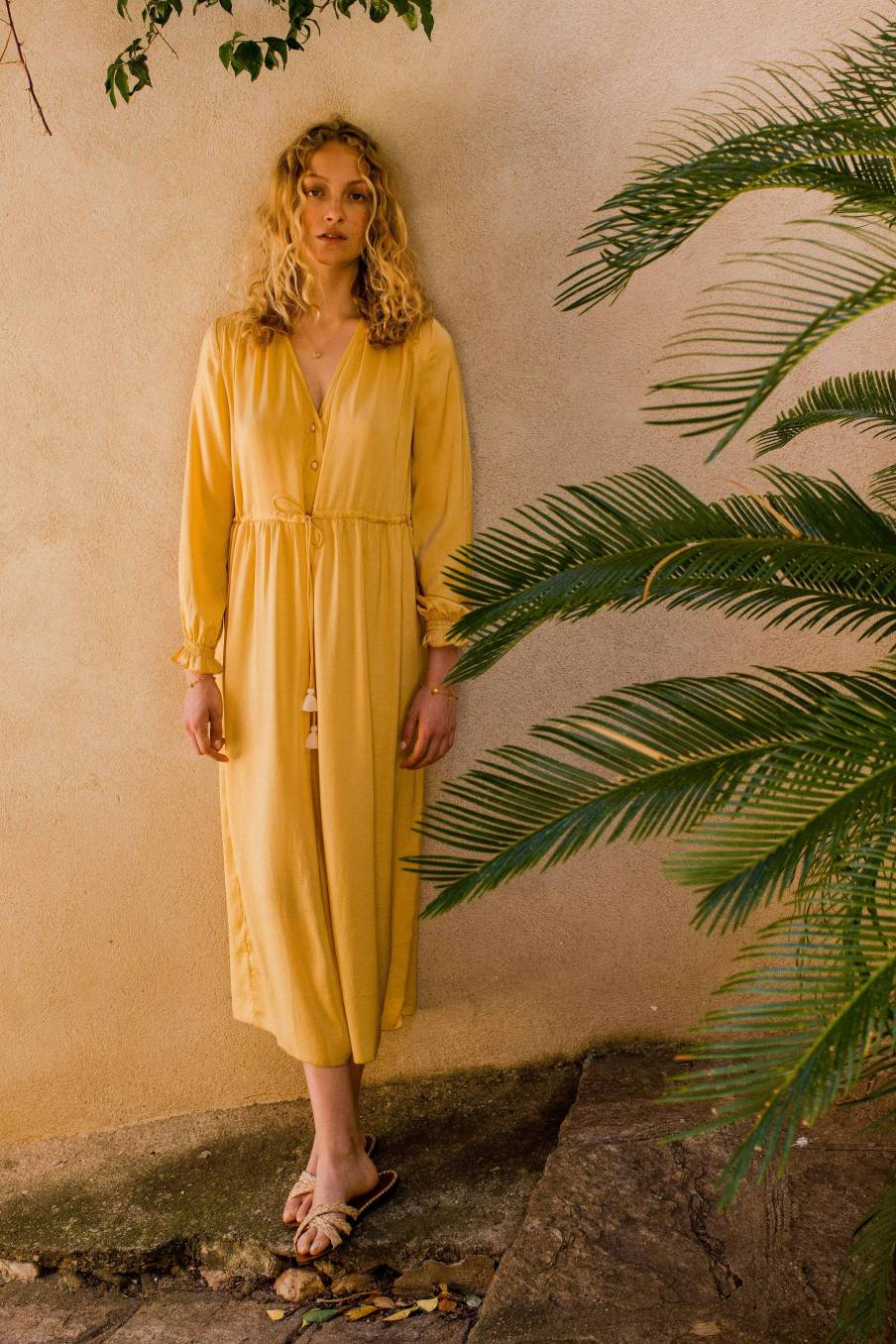 Dress Chally Lemon