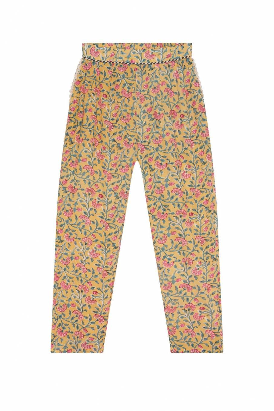 Pants Chama Lemon Flowers