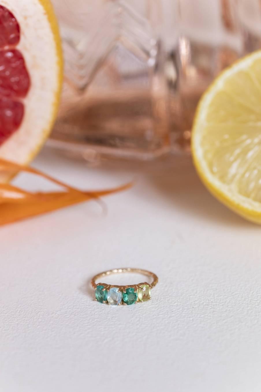 Ring Caitlyn Aquamarine