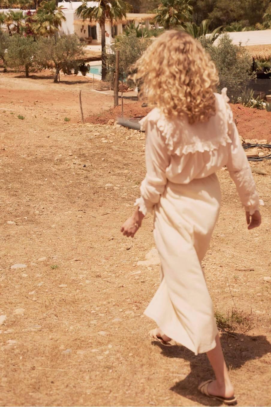 Skirt Areta Cream