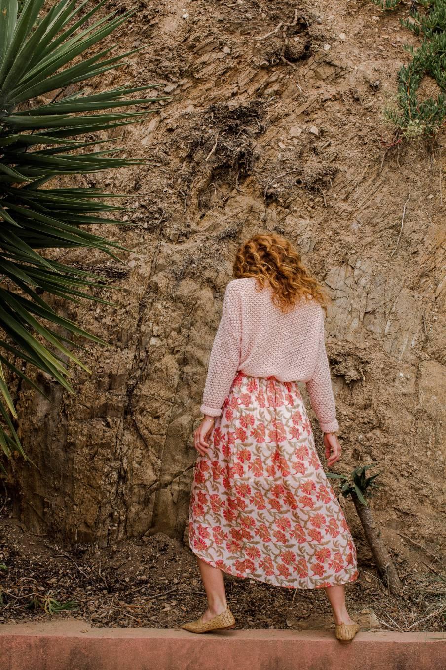 Skirt Lucia Bohemian Flowers