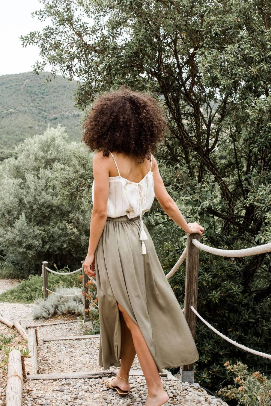Skirt Maya Khaki