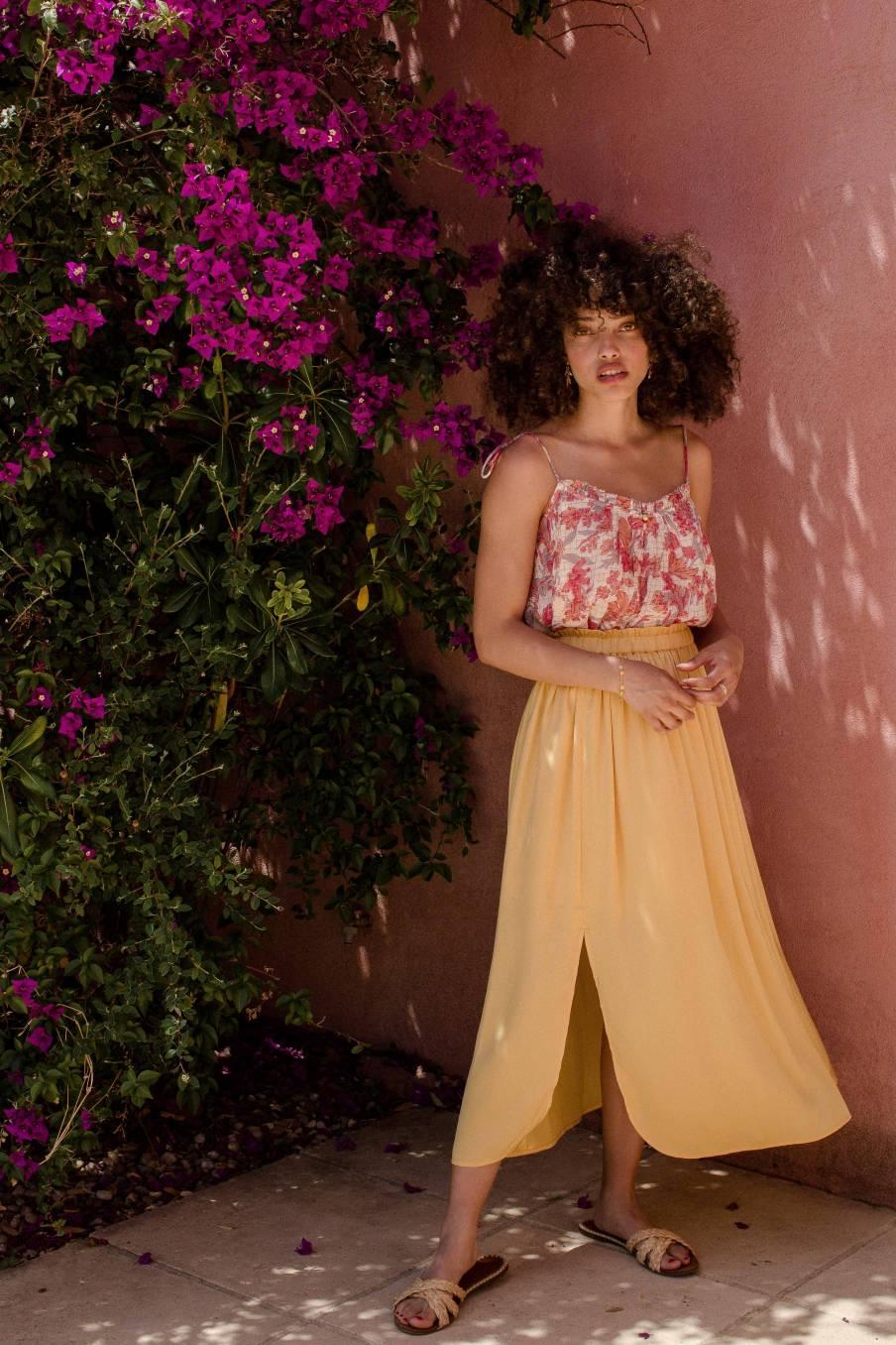 Skirt Maya Lemon