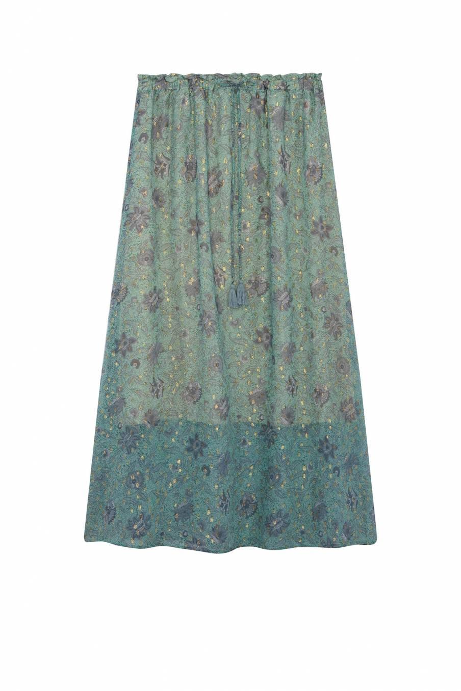 Skirt Yolanda Almond Flowers