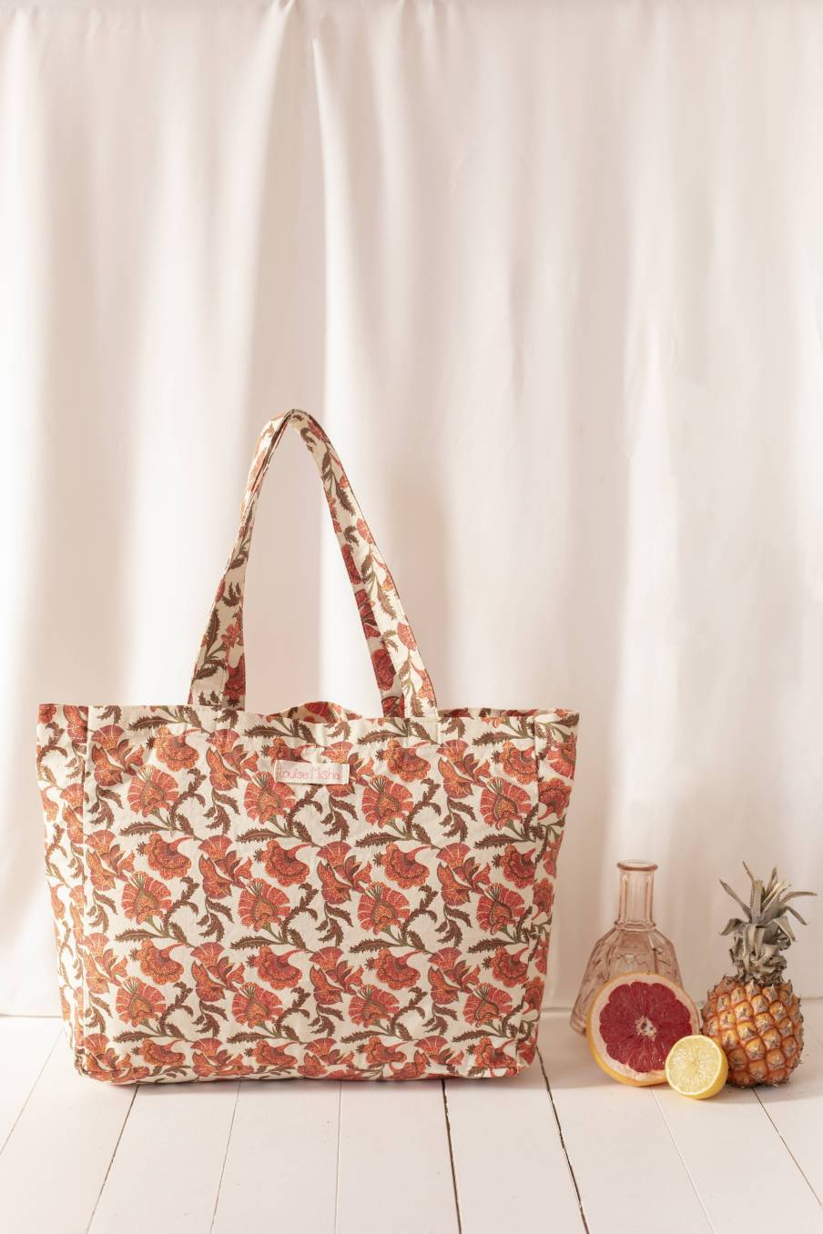 Tote Bag Beverly Bohemian Flowers
