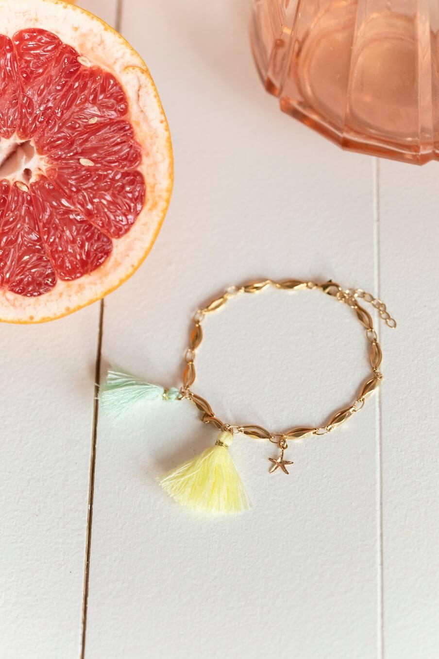 Bracelet de cheville Sara Amande
