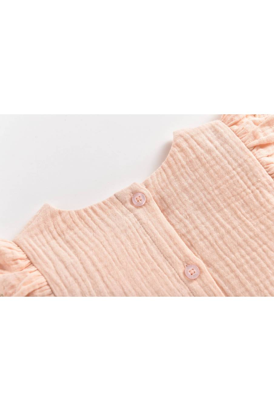 boheme chic vintage blouse bébé fille lisa blush