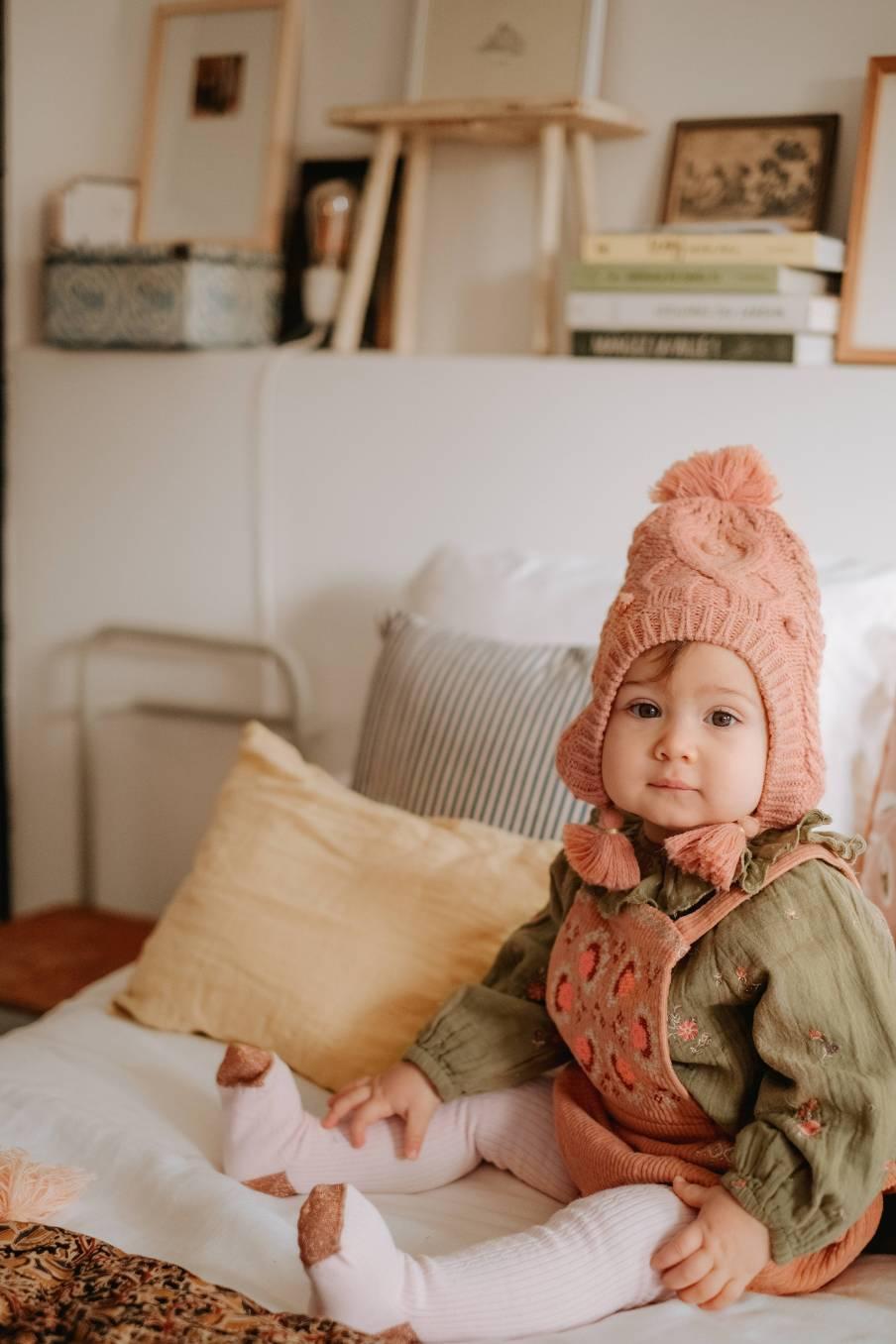 boheme chic vintage barboteuse bébé fille maria sienna velvet