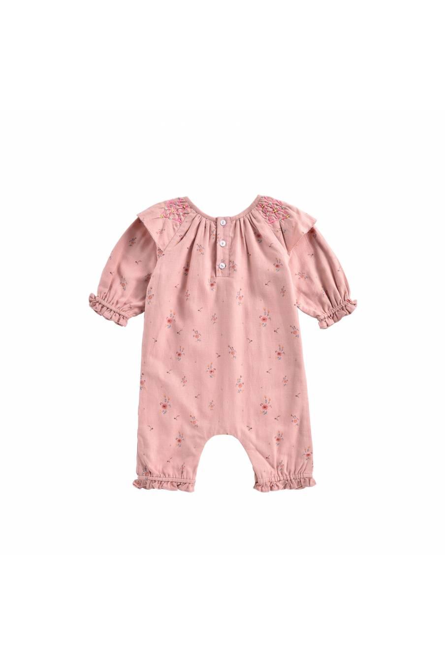 boheme chic vintage combinaison bébé fille lulia sienna meadows