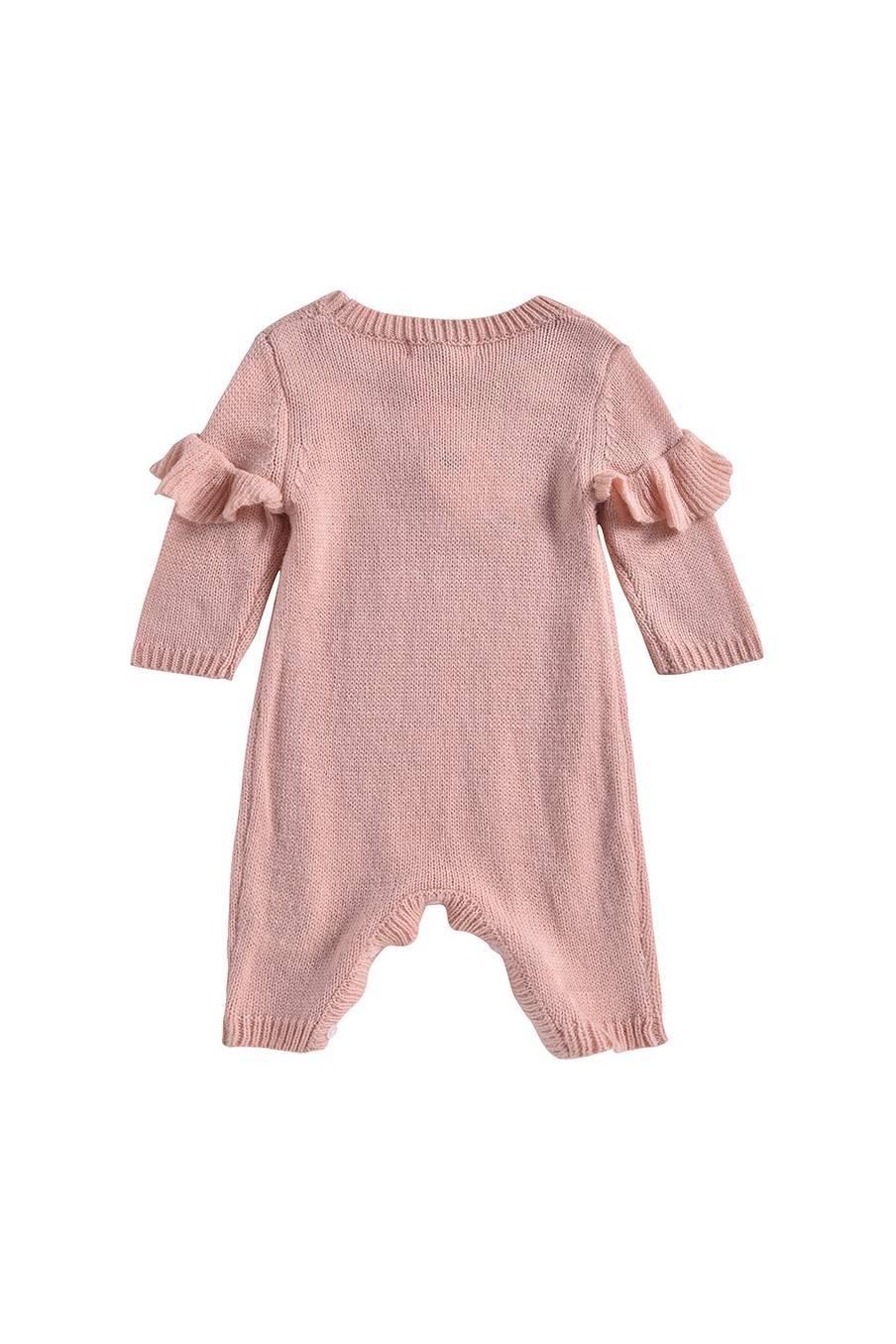boheme chic vintage combinaison bébé fille tamalia blush